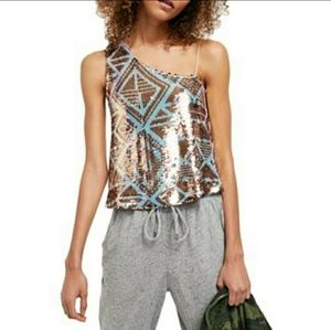 Free People Disco Fever Top